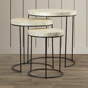 Dalvey 3 Piece Nesting Tables