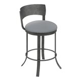 Albie Swivel Bar & Counter Stool by Williston Forge