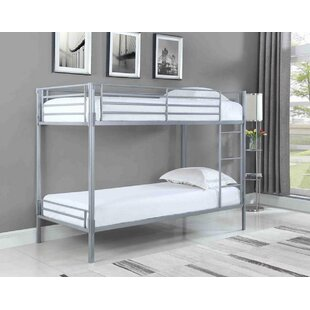 Arelious Bunk Twin Over Twin Bed by Harriet Bee No Copoun