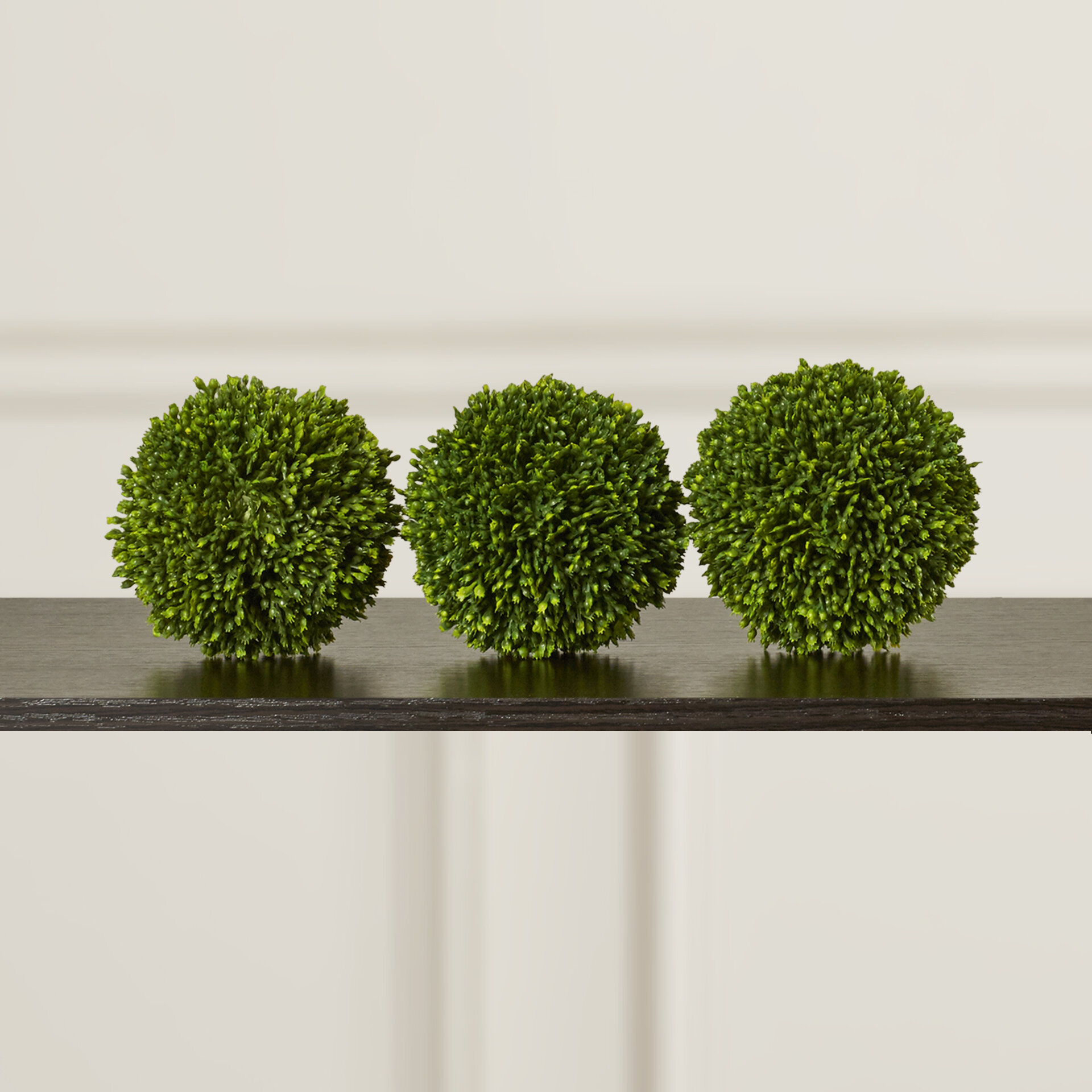 Charlton Home Ball Decor Boxwood Topiary Reviews Wayfair