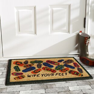 4066ef0ee Olen Lots of Flip-Flops Door Mat