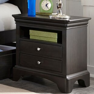 Crawfordville 2 Drawer Nightstand