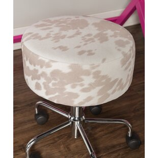 Aspen Hill Rolling Height Adjustable Stool