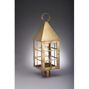 Gipson Chimney Pyramid Top H-Bars 1-Light Lantern Head by Alcott Hill