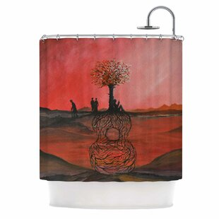 'Art Name' Single Shower Curtain