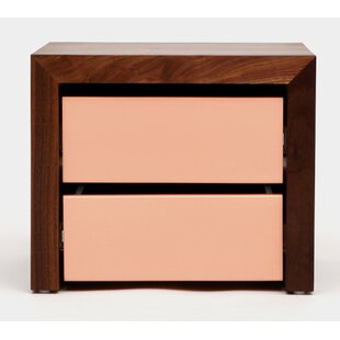 SQM 2 Drawers Nightstand