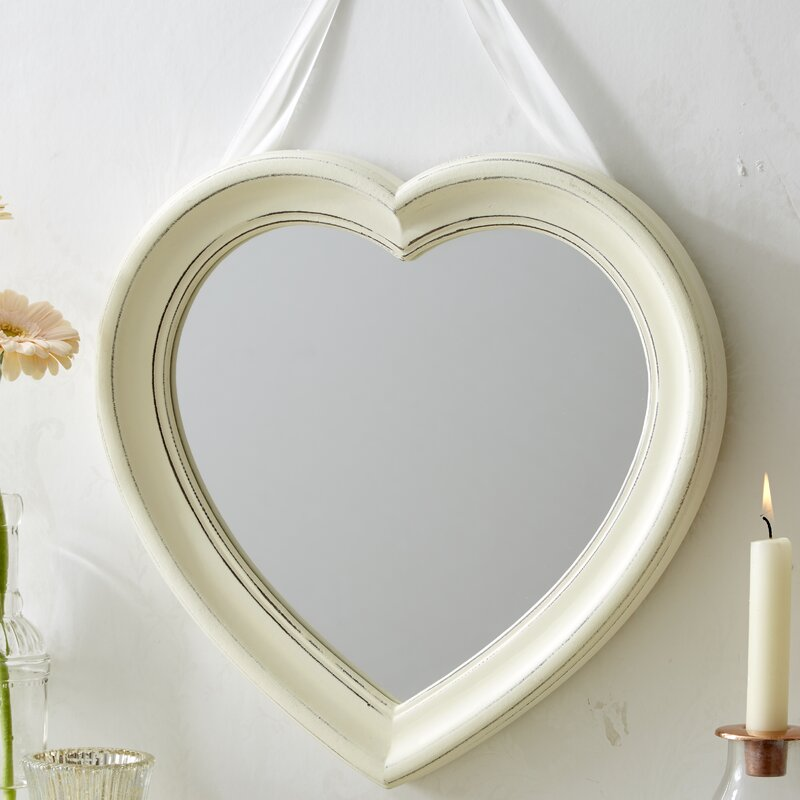 Fantastic Naghibi Hanging Heart Accent Mirror Home Interior And Landscaping Ologienasavecom