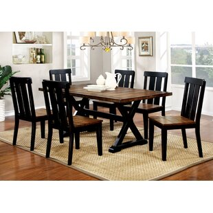 Sangrey 7 Piece Dining Set Loon Peak