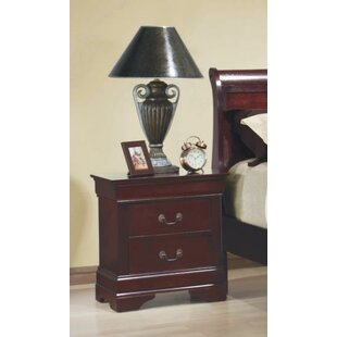 Van Glider 2 Drawer Nightstand