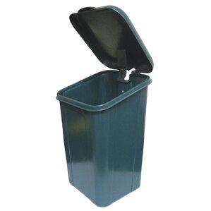 receptacle 15 gallon trash can