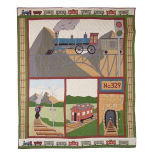 Patch Magic Train Twin Quilt