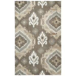 Allerton Hand-Tufted Brown Area Rug