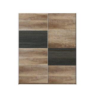 Viveca 2 Door Sliding Wardrobe By Ebern Designs