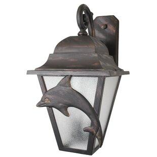 Alcott Hill Penfield 3-Light Outdoor Wall Lantern