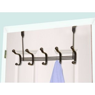 Merveilleux 5 Hook Over The Door Coat Rack