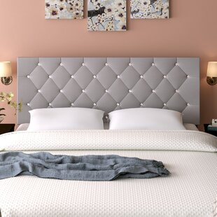 Winston Porter Albertine Upholstered Panel Headboard