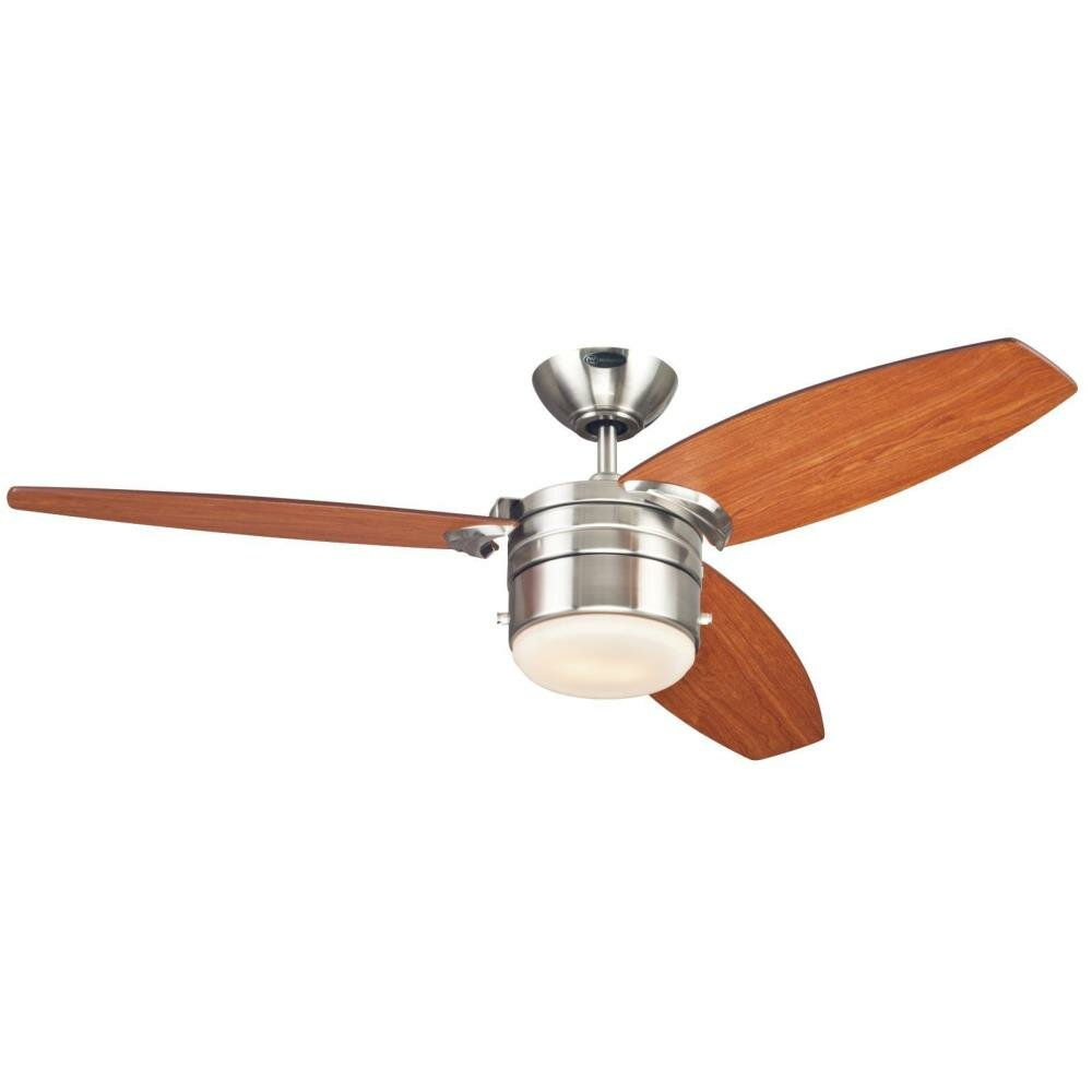 Westinghouse Lighting 48 Lavada 3 Blade Ceiling Fan Reviews Wayfair 12 Foot Swag Light Kit Chain By Electric New