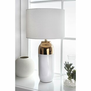 Roselli Ceramic and Metal 25 Table Lamp