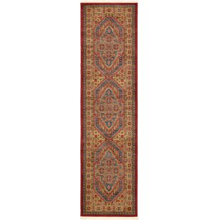 Zoey Red Area Rug by World Menagerie