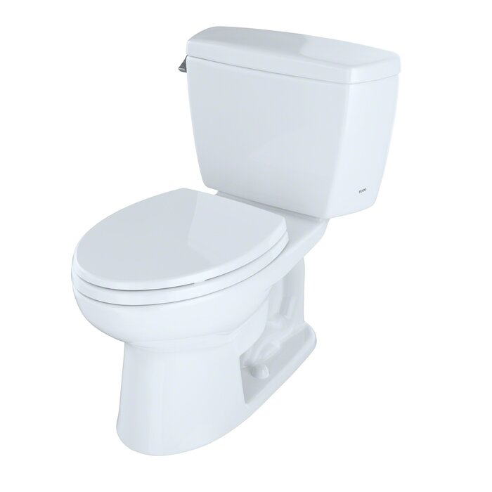 Miraculous Drake 1 6 Gpf Elongated Two Piece Toilet With High Efficiency Flush Seat Not Included Ocoug Best Dining Table And Chair Ideas Images Ocougorg