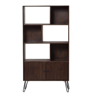 Amee Solid Mango Wood Standard Bookcase Foundry Select Sale
