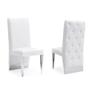Statham Upholstered Dining Chair (Set of 2) Orren Ellis