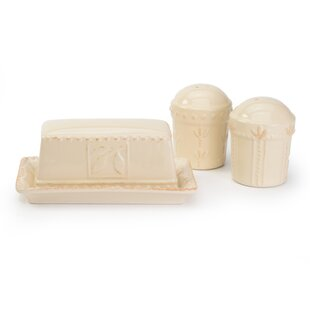Dorothy 3 Piece Salt And Pepper Set