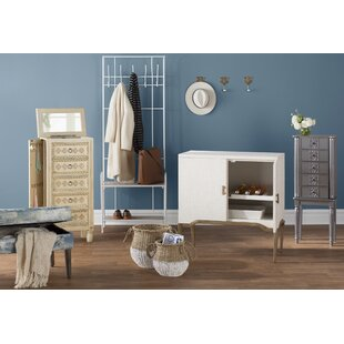 Beaty Jewelry Armoire with Mirror by Alcott Hill