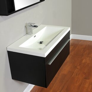 Compare prices Garry 36 Single Wall Bathroom Vanity Set ByOrren Ellis