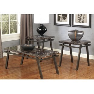 Kennewick 3 Piece Coffee Table Set