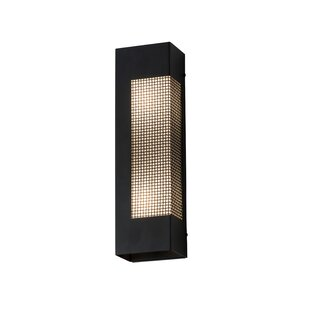 17 Stories Lowenthal 2-Light LED Outdoor Flush Mount