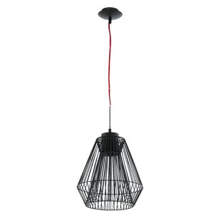 Genial Emma Wire Cage 1 Light Pendant