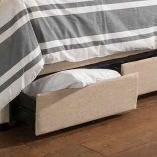 Arabian Upholstered Storage Panel Bed by DarHome Co