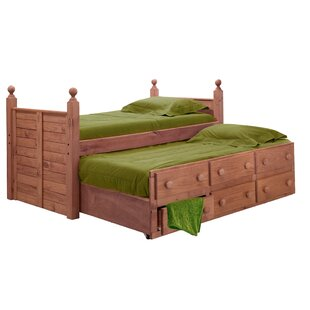 Cioffi Twin Mate's & Captain's Bed with Trundle Unit by Harriet Bee
