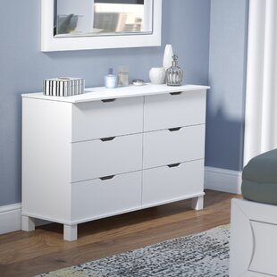 Clark 6 Drawer Double Dresser