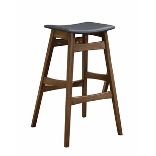 Olaughlin Mid-Century Angled Bar Stool (Set of 2) Union Rustic