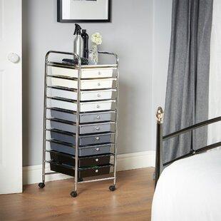Clark 10 Drawer Storage Utility Cart By Symple Stuff