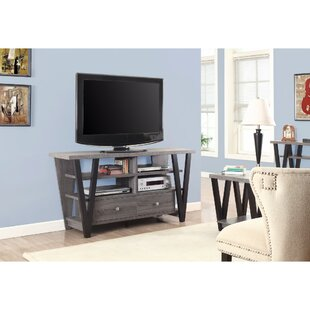 Reinemuth Gorgeous Two Toned Trapezoid 60 inch  TV Stand