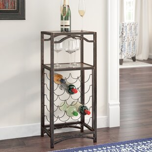 Floyd Metal Storage 15 Bottle Floor Wine Bottle Rack by Darby Home Co