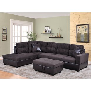 Star Home Living Corp Sectional with Otto..