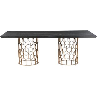 Glenna Dining Table Everly Quinn