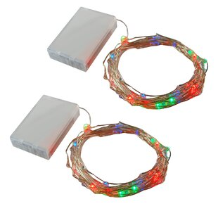 The Holiday Aisle Sanchez Twinkle 13.33 ft. 100-Light Fairy String Lights (Set of 2)
