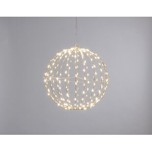 240 Warm White LED Twinkling Dewdrop Folding Ball Lighted Window Décor By The Seasonal Aisle