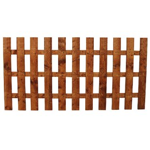 6' x 4' (1.83m x 1.22m) Picket Fence Panel (Set of 3) by Home Essence