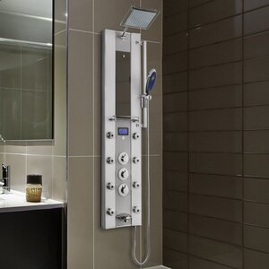 Thermostatic Tower Rainfall Shower Diverter