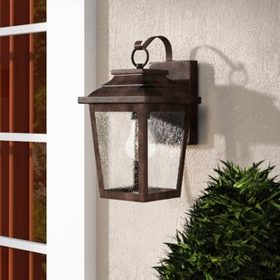 Three Posts Mayhugh 1-Light Outdoor Wall Lantern