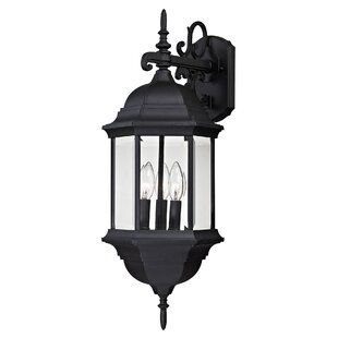 Reviews Altagore 3-Light Outdoor Wall Lantern By Charlton Home