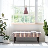 Pedigo Upholstered Bench by Bungalow Rose
