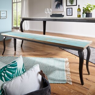 Gastonia Wood Dining Bench By Beachcrest Home
