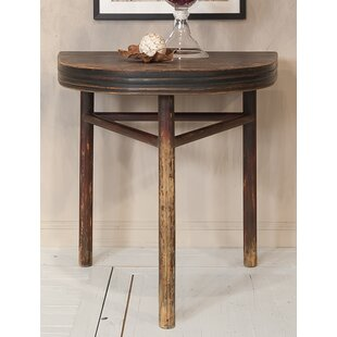 Half Rond Side Table.Semi Circle Wall End Table